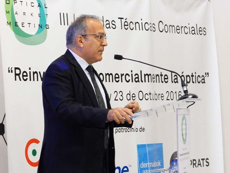 Alfons Bielsa, Presidente del Col.legi d'Òptics Optometristes de Catalunya